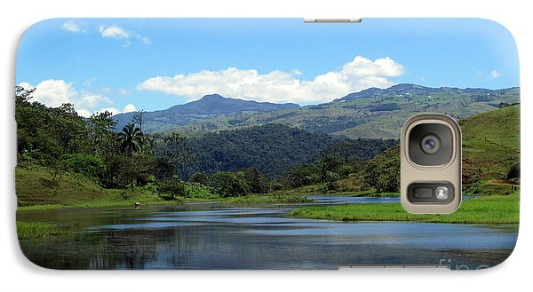 Galaxy Case featuring the photograph Lake In Costa Rica by Irina Hays