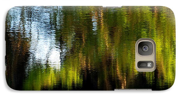 Galaxy Case featuring the photograph Lake In Green by Lorenzo Cassina