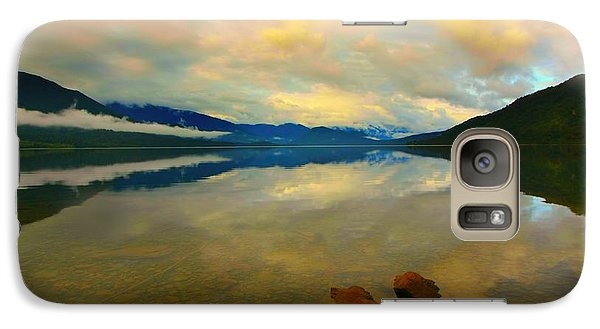 Galaxy Case featuring the photograph Lake Kaniere New Zealand by Amanda Stadther
