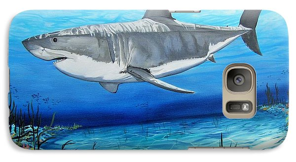 Galaxy Case featuring the painting Lake Lenape White by Kevin F Heuman