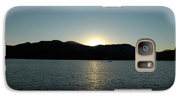 Galaxy Case featuring the photograph Lake Lure Sunset by Allen Carroll