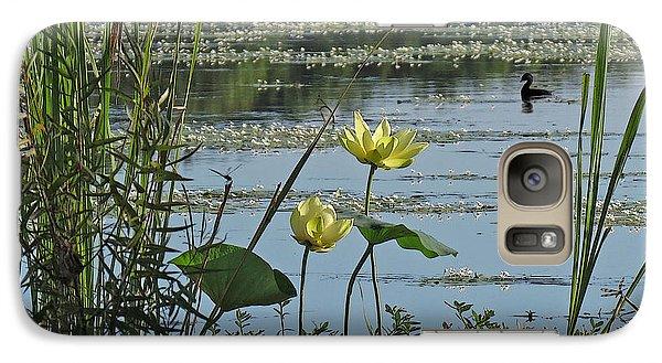 Galaxy Case featuring the photograph Lake Marion Morning by Deborah Smith