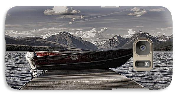 Galaxy Case featuring the photograph Lake Mcdonald by Ellen Heaverlo