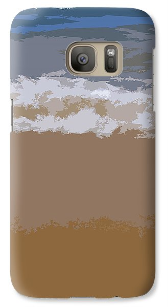Lake Michigan Shoreline Galaxy S7 Case