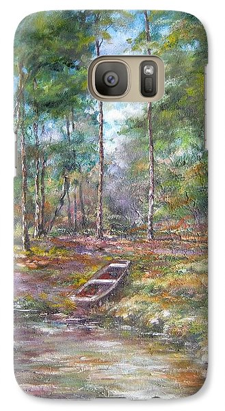 Galaxy Case featuring the painting Lake Murray #2 by Gloria Turner