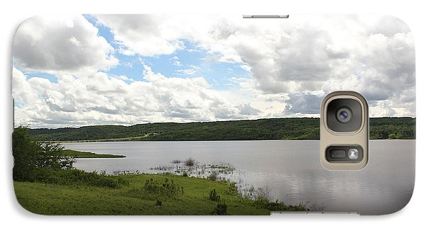 Galaxy Case featuring the photograph Lake Of The Prairies by Ryan Crouse