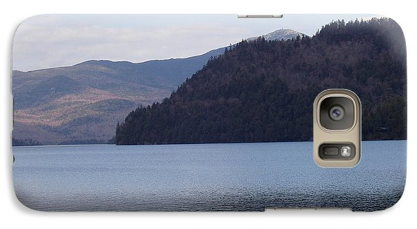 Galaxy Case featuring the photograph Lake Placid Mountains by John Telfer