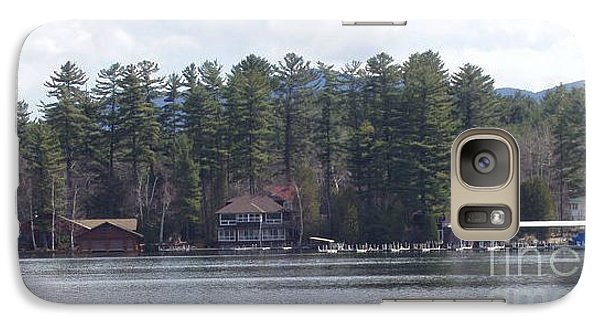 Galaxy Case featuring the photograph Lake Placid Summer House by John Telfer