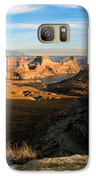 Galaxy Case featuring the photograph Lake Powell From Alstrum Pt 02 by Jeff Brunton