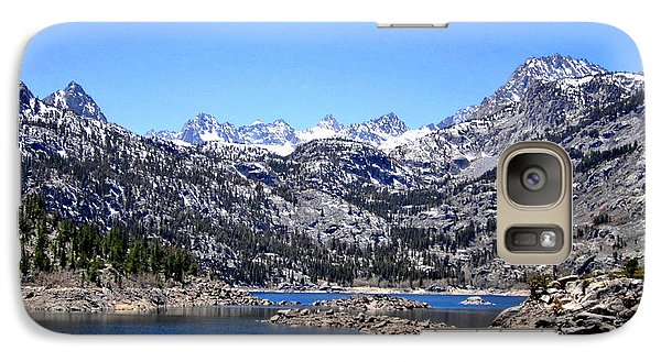 Galaxy Case featuring the photograph Lake Sabrina by Marilyn Diaz