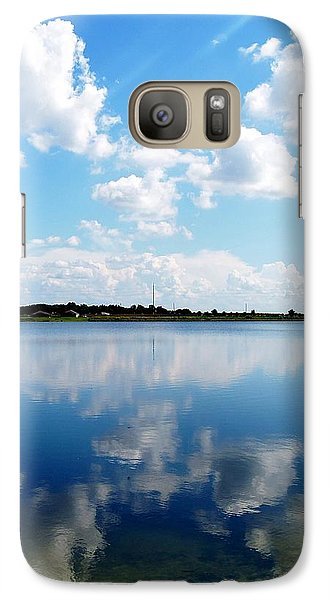 Galaxy Case featuring the photograph Lake Sears 000 by Chris Mercer
