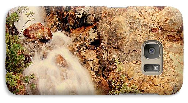 Galaxy Case featuring the photograph Lake Shasta Waterfall 2 by Garnett  Jaeger
