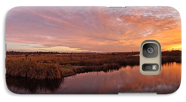 Galaxy Case featuring the digital art Lake Shelby Bridge by Michael Thomas