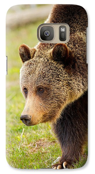 Galaxy Case featuring the photograph Lake Grizzly by Aaron Whittemore