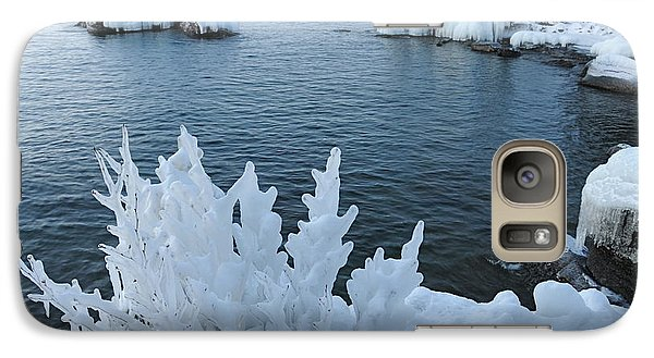 Galaxy Case featuring the photograph Lake Superior Blues by Sandra Updyke