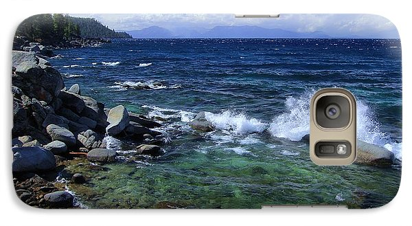 Galaxy Case featuring the photograph Lake Tahoe Wild  by Sean Sarsfield
