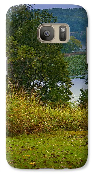 Galaxy Case featuring the photograph Lake View by Lena Wilhite