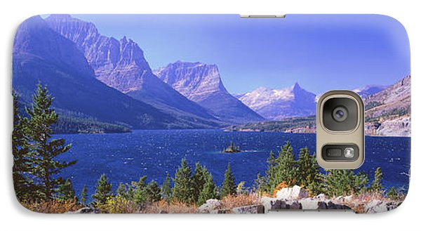 Lake With Mountain Range Galaxy Case by Panoramic Images