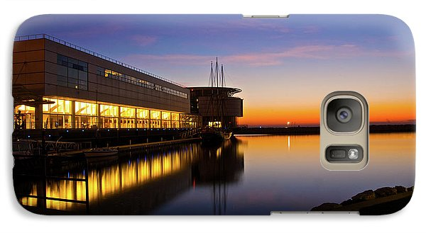 Galaxy Case featuring the photograph Lakefront Sunrise by Jonah  Anderson