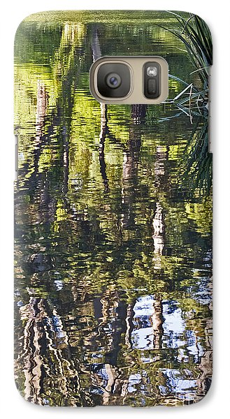 Galaxy Case featuring the photograph Lakeshore Reflections by Kate Brown