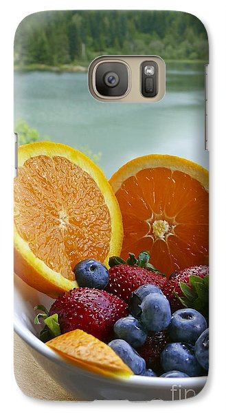 Galaxy Case featuring the photograph Lakeside Fruit Bowl by Maria Janicki