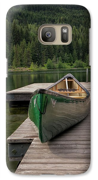 Galaxy Case featuring the photograph Lakeside Peace by Jacqui Boonstra