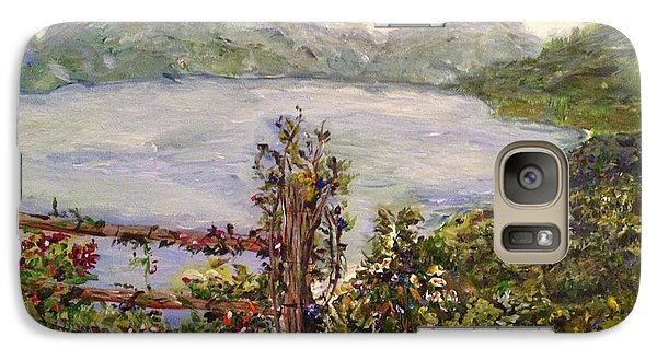 Galaxy Case featuring the painting Lakeview by Belinda Low