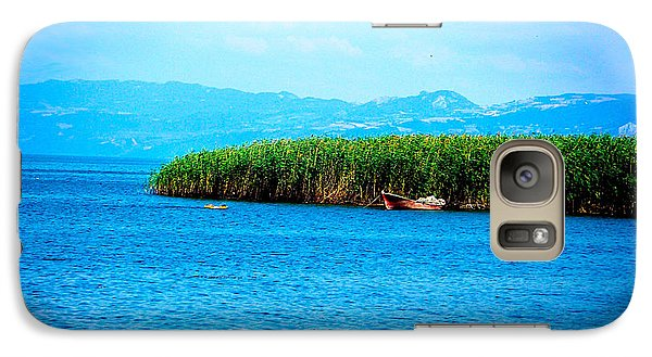 Galaxy Case featuring the photograph Lakeview by Zafer Gurel