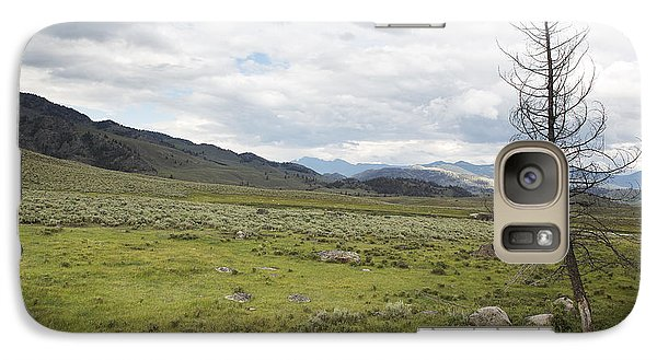 Galaxy Case featuring the photograph Lamar Valley No. 1 by Belinda Greb