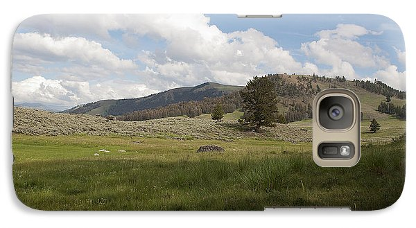 Galaxy Case featuring the photograph Lamar Valley No. 2 by Belinda Greb