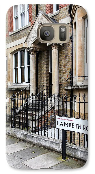 Galaxy Case featuring the photograph Lambeth Road by Ross Henton