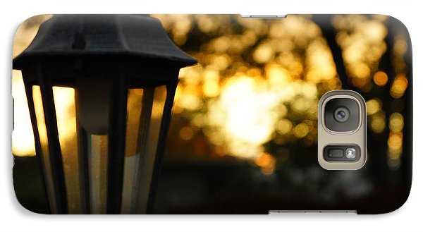 Galaxy Case featuring the photograph Lamplight by Photographic Arts And Design Studio