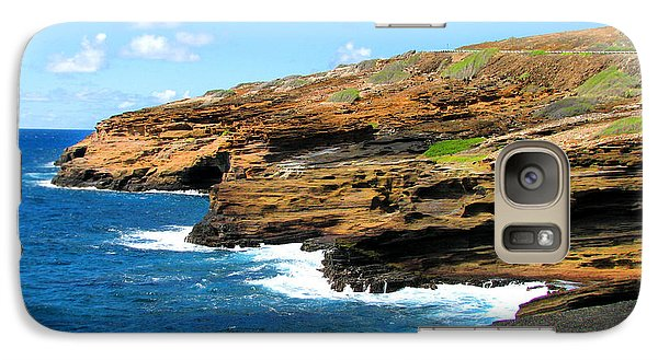 Galaxy Case featuring the photograph Lanai Lookout by Kristine Merc
