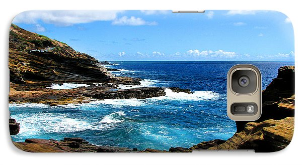 Galaxy Case featuring the photograph Lanai Scenic Lookout by Kristine Merc