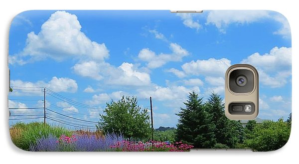Galaxy Case featuring the photograph Lancaster County Pa Summer Day by Jeanette Oberholtzer