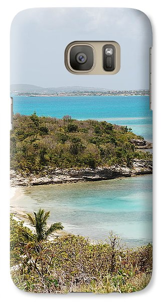 Galaxy Case featuring the photograph Land To Sea by Kathy Gibbons