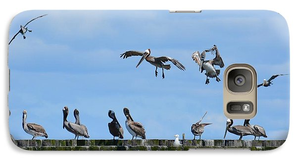 Galaxy Case featuring the photograph Landing Gear Down by Gayle Swigart