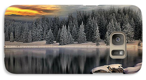 Galaxy Case featuring the photograph Landscape Art by Digital Art Cafe