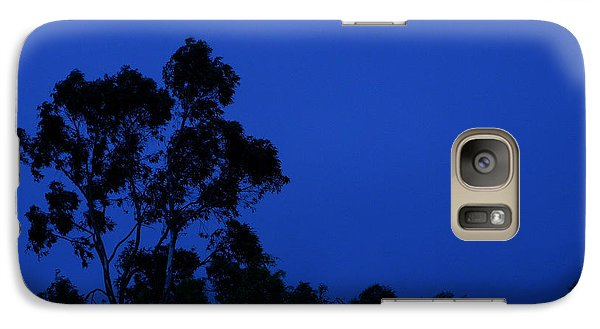 Galaxy Case featuring the photograph Blue Landscape by Mark Blauhoefer