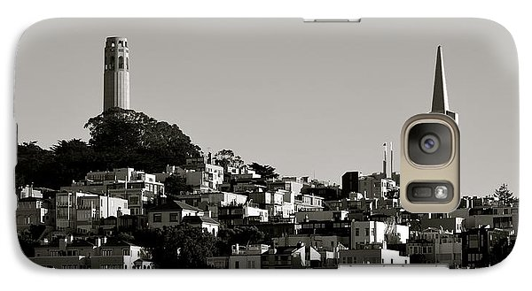 Galaxy Case featuring the photograph Landscape Of San Francisco by Alex King