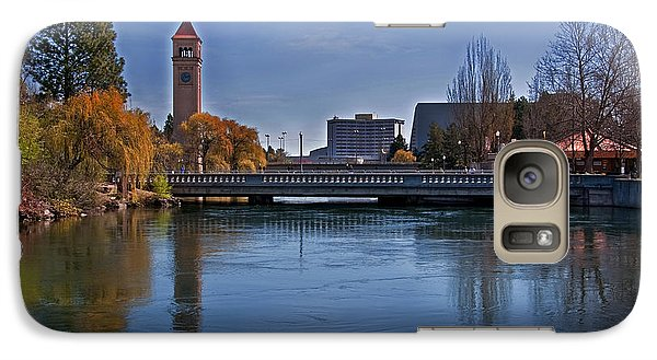 Galaxy Case featuring the photograph Landscape Of Spokane Wa Riverfront Park  by Valerie Garner