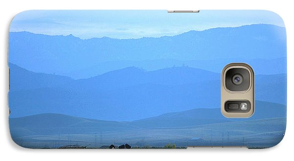 Galaxy Case featuring the photograph landscape of North CA by Rima Biswas
