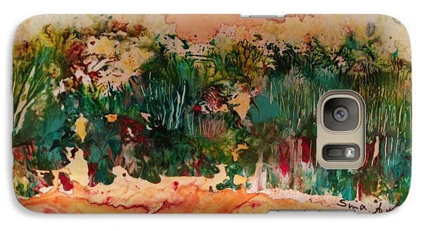 Galaxy Case featuring the painting Landscape Twohundred by Sima Amid Wewetzer