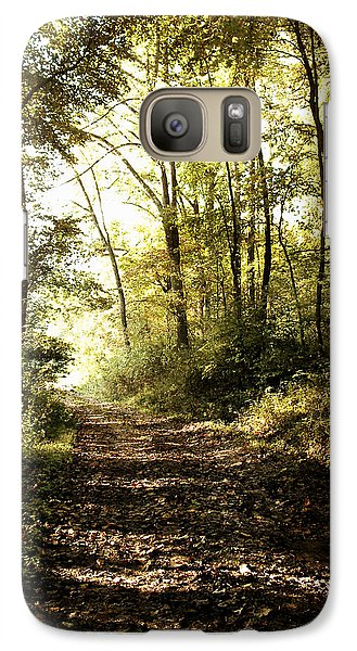 Galaxy Case featuring the photograph Lane by Cynthia Lassiter