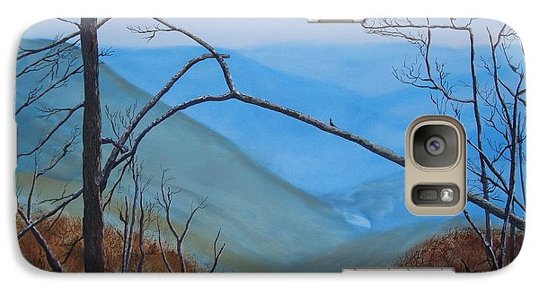 Galaxy Case featuring the painting Lane Pinnacle by Stuart Engel