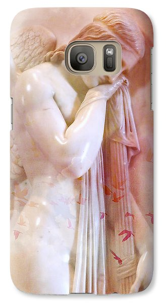 Galaxy Case featuring the photograph L'angelo Celeste by Micki Findlay