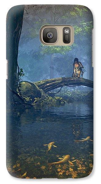 Lantern Bearer Galaxy S7 Case by Cynthia Decker