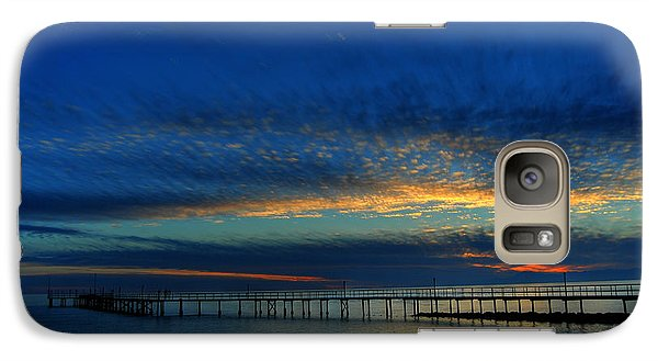 Galaxy Case featuring the photograph Lapis Sky by Erhan OZBIYIK