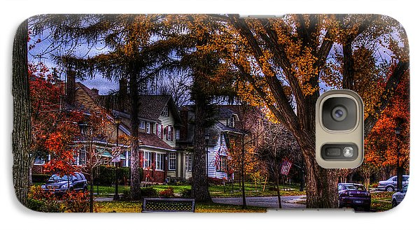 Galaxy Case featuring the photograph Larchmont-radcliffe Park by Don Nieman