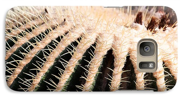 Galaxy Case featuring the photograph Large Cactus Ball by John Wadleigh